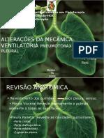 Apresentação Pneumotorax e Dp