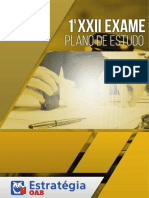 Plano de Estudos XXII Exame VP