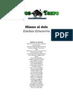 Echeverria, Esteban - Himno al dolor.doc