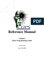 Clips Reference Manual