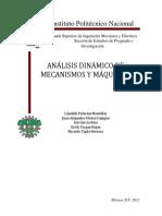 Analisis Dinamico de Mecanismos y Maquin