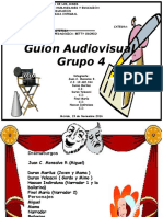 Guion Audiovisual Estética