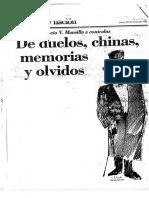 Viñas, David - Lucio Mansilla a Contraluz de Duelos Chinas Memorias y Olvidos