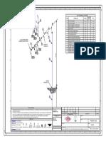 Plano Isométrico Spool de Interconexión