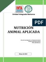 Inta Curso Nutricion Animal Aplicada 2014