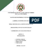 PRINCIPIOS DE LA GESTIÓN DE PROYECTOS