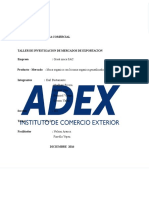 Taller de Investigacion Mdos Exportacion Con Cuadro
