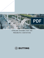 BUTTING Pipeline Systems for the Pneumatic Conveying