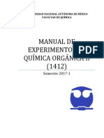 Manual Q. Orgánica II (1412) 2017-1