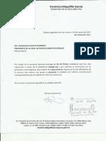 Oficio entrega de firmas #ExPresidentesSinPensión