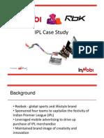 IPL Case Study