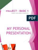 Project – Basic 1