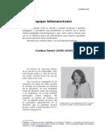 Dialogo Pedagogico Davini-Ardiles