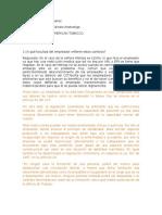 Derecho Comercial - Caso