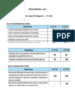 Matriz de Referência Prova Brasil Língua Portuguesa 8 CÓPIAS