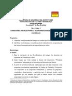 TALLER No. 1 caracterización institucional