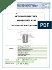 La 8  Informe de METROLOGÍA ELÉCTRICA (TECSUP)