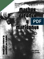Machos, Varones y Maricones - Maria Gallindo y Julieta Paredes