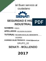 Seguridad e Higiene Industrial Tarea Unidad 2