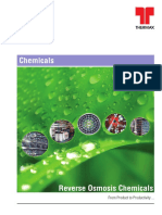 Reverse Osmosis Chemical Brochure