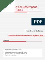 Día 3. Evaluación Del Desempeño Logistico (EDL) - Modelos de Operacion y SLA