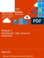Modulo 2 - Workloads SQL en Azure y WebSites.pptx