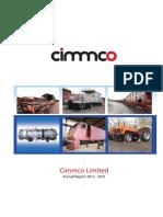 Annual Report Cimmco