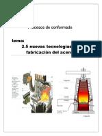 Tecnologia de Fabricacion Acero
