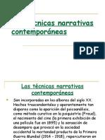 Técnicas de la literatura contemporanea.pptx