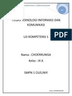 Uji 1 Choerrunisa