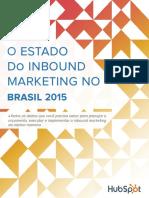 Brazil Estado de Inbound Marketing No Brasil 2015 v3