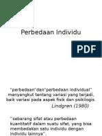 Perbedaan Individu (1)