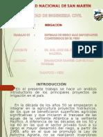 Irrigacion en El Peru