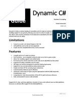 Dynamic C# User Guide