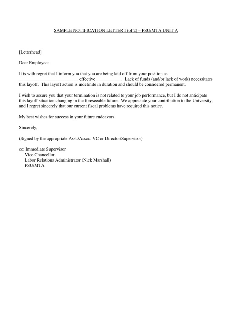 Employee Lay Off Letter from imgv2-2-f.scribdassets.com