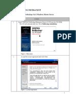 NBU Installation Manual