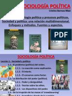1. Sociedad y Política