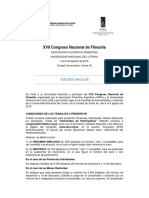 FILOSOFIA_Congreso Nacional AFRA_circular Tercera