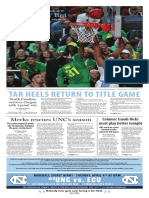 The Daily Tar Heel for April 3, 2017