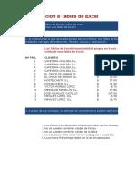 01 Introduccion a Tablas de Excel