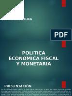 Diapos Economia Politica Fiscal y Monetaria