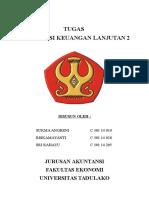 Tugas Mid Kelompok Akuntansi Keuangan Lanjutan 2