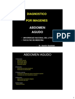 2011 - Diagnostico - Abdomen Agudo Parte 1