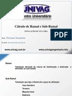 02 - Ramal e Sub Ramal - 2017 1