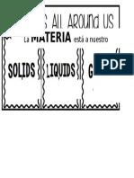 01. 3 Estados Materia Foldable