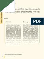 Conceptos Basicos Para La Modelacion Del Crecimiento Forestal