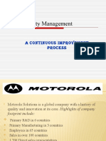 TQM Motorola