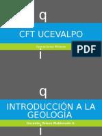 geologia CFT UCEVALPO