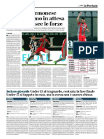 La Provincia Di Cremona 03-04-2017 - Calcio Lega Pro