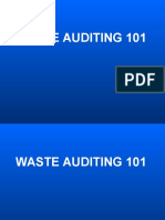 Waste Auditing 101 by Dennis Siders, Midwest Assistance Program